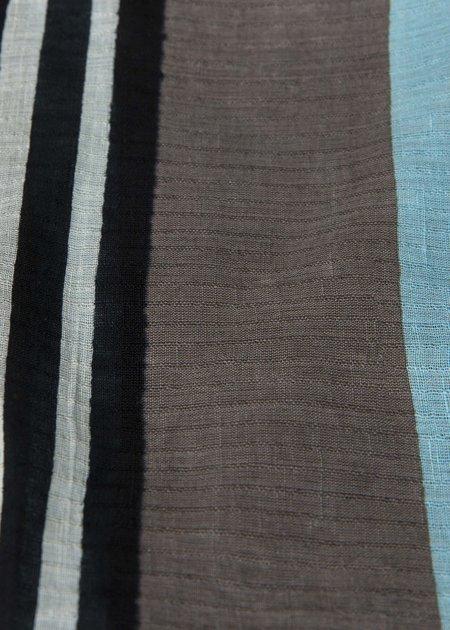 Epice Bay Stripe Scarf - Zinc Grey