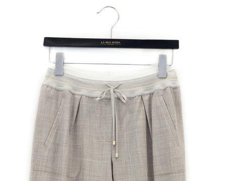 Lorena Antoniazzi Trousers - LIGHT BEIGE