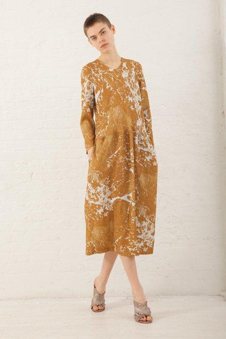 A Détacher Daisy Dress in Ochre