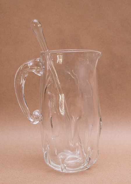 Rocket Glass Works Glass Pitcher