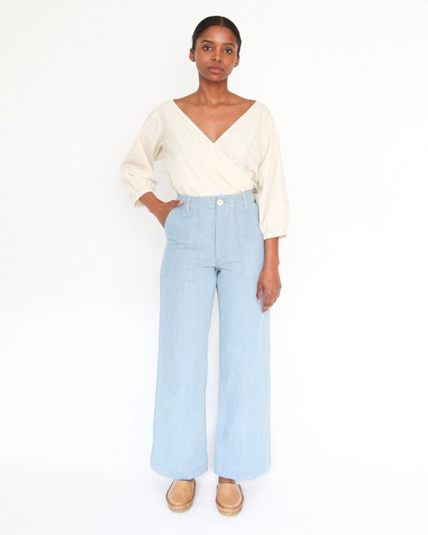 Esby Marie Prarie Blouse - natural