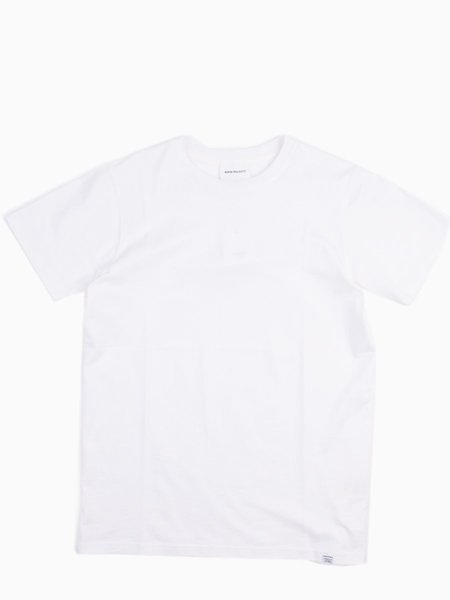 Norse Projects Niels Standard SS in White