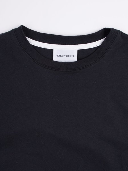 Norse Projects Niels Standard SS in Black