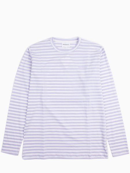 Norse Projects James Logo Stripe in Heather