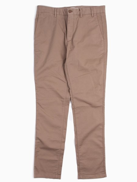 Norse Projects Aros Slim Light Stretch in Utility Khaki
