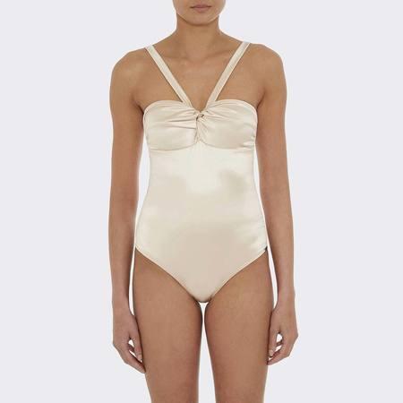 Prism Sardinia Swimsuit - Oyster Satin