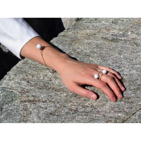 Bibelot & Token Jujumade : Dear Pearl Ring