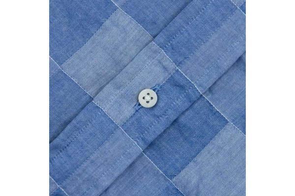 Gitman Vintage Blue Patchwork