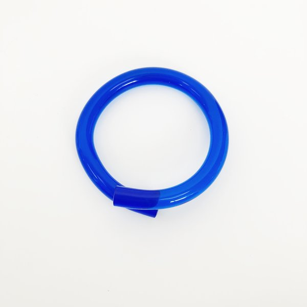 Corey Moranis Blue Rod Bangle
