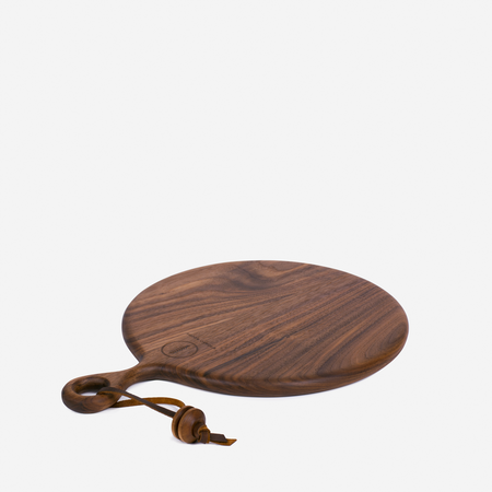 Wronko Woods Round Serving Board - Walnut