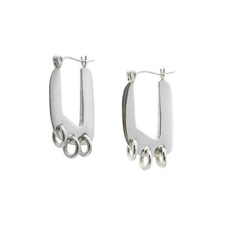 Erin Considine Gabriel Earrings - Silver