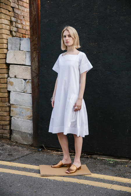 TOIT VOLANT Delphinius Midi Dress