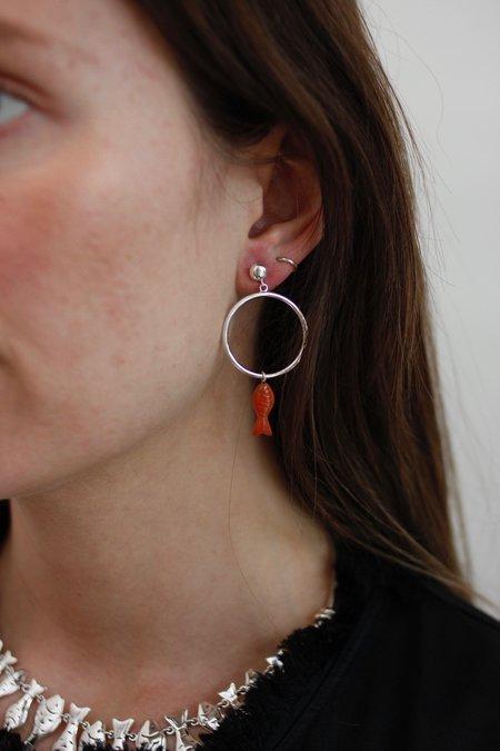 Pamela Love Stone Delphine Earrings