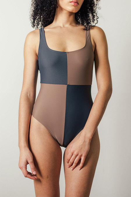 Botanica Workshop Rika Swimsuit - Tamarind/Slate