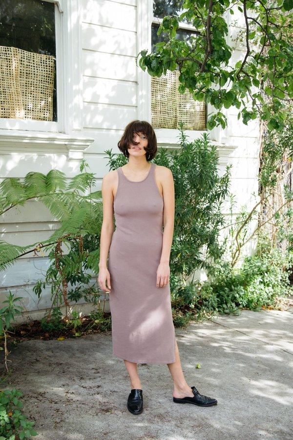 Stateside Midi Tank Dress - Mocha