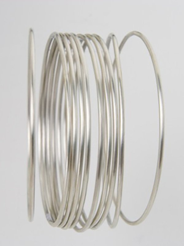 Bhoomki Simple Round Wire Bangle