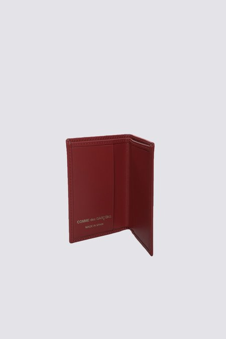 Comme des Garçons Leather SA6400 Wallet - Ox Blood
