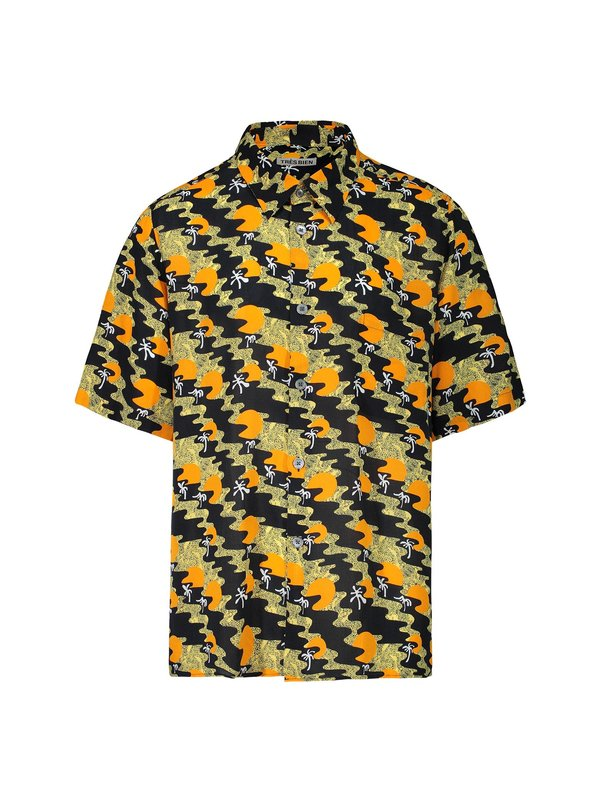 Tres Bien Tourist Viscose Shirt - Sunset