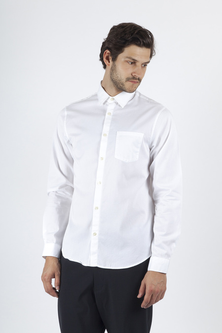 Hope Roy Pocket Shirt - White