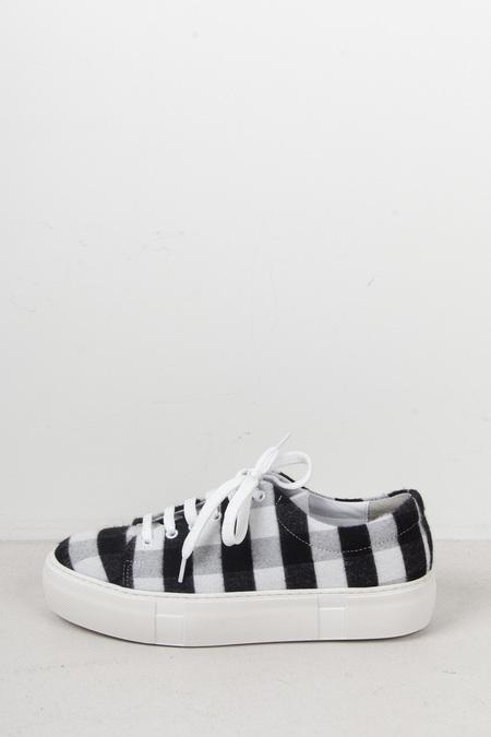 Hope Sam Sneaker - BLACK CHECK