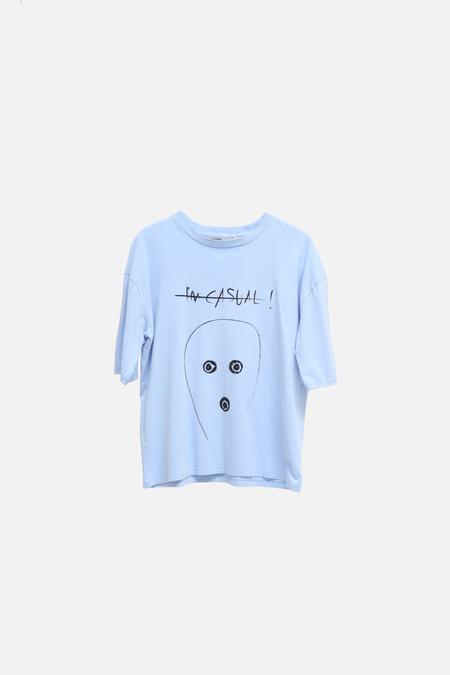 ADNYM Atelier Adnym Tyros Tee - Blue Print