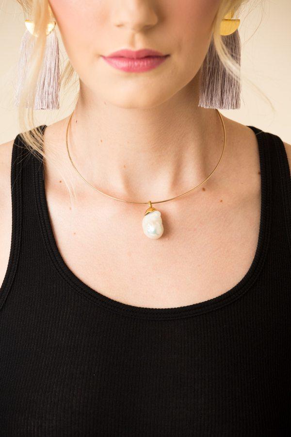 Lizzie Fortunato Best Lady Necklace
