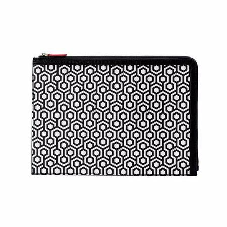 Mischa Designs A4 Folio Clutch - Classic Black
