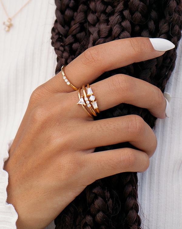 Lindsay Lewis Augusta Ring - White