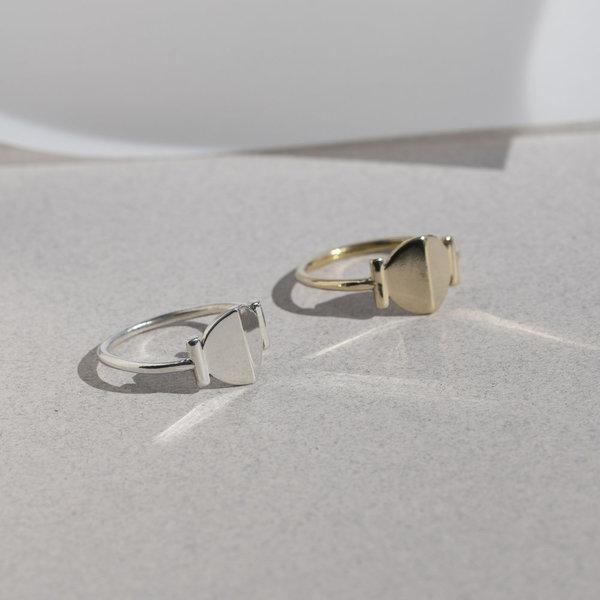 Lindsay Lewis Hemisphere Ring