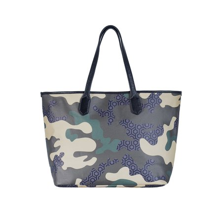 Mischa Designs Jet Set Tote - Camo Green