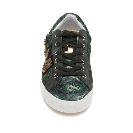 Ash Nad Arms Green Military Fabric Sneaker