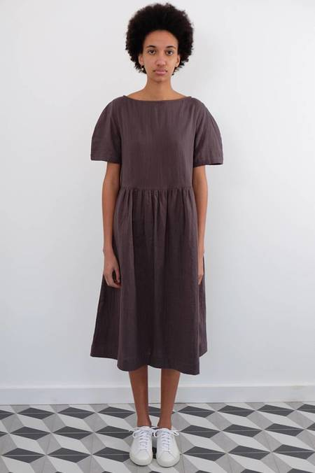 wrk-shp Cotton Double Gauze Summer Dress