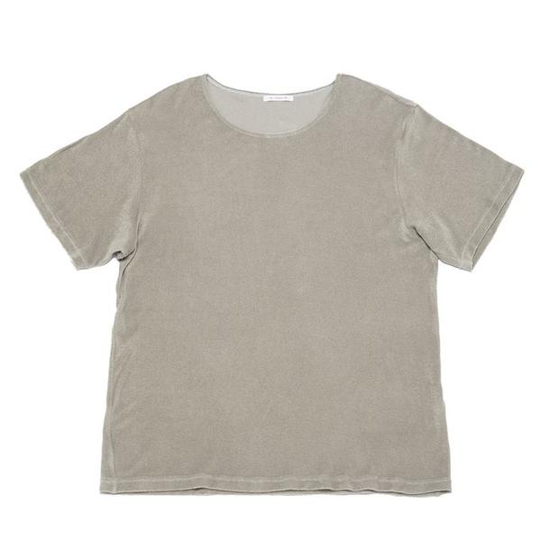 S.K. Manor Hill Open-Neck T-Shirt - Taupe