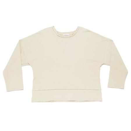S.K. Manor Hill Roll-Neck Sweatshirt - Sand