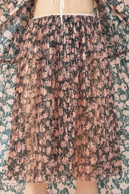 A Détacher Serafina Lace Skirt in Mascara Print
