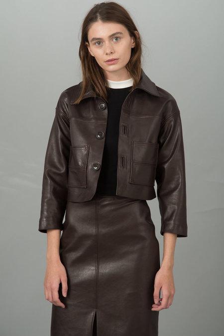 Urbanovitch Leather Coat