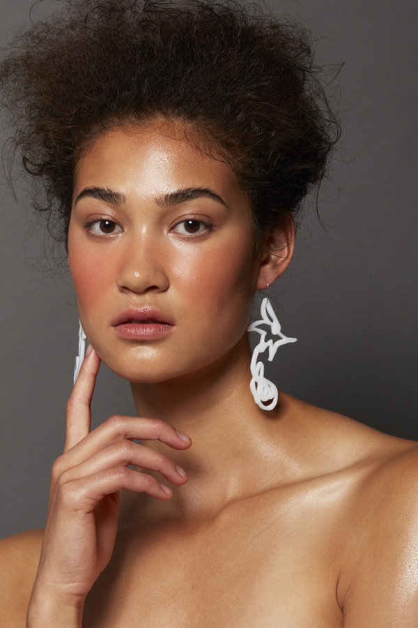 URBANOVITCH Scribble Palm Earring