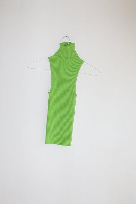 Giu Giu Nonna Sans Sleeves Tank - Celery