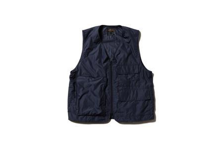 Beams + Military Over Vest - Navy