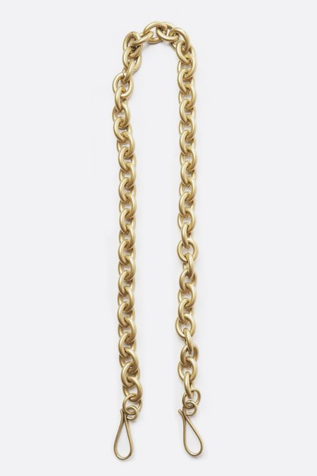 Anne Grand-Clément Petit Varnished Brass Forcat Chain