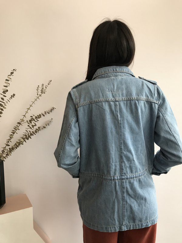 Minimum Mazy Jacket - Blue