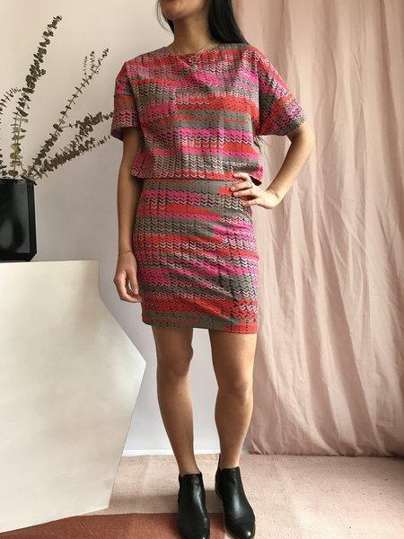 Valérie Dumaine Paloma Dress - Acid