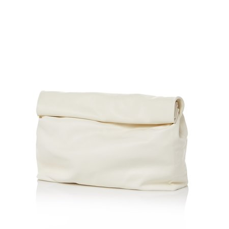 Marie Turnor The Lunch Clutch - White Lamb