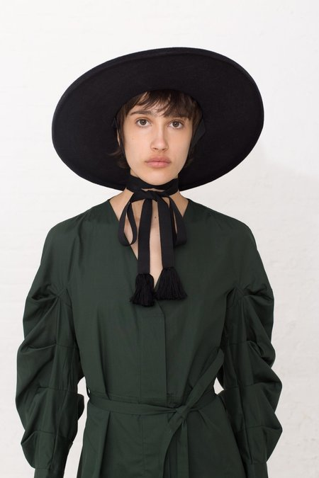 Behida Dolić Charcoal Gray Hat