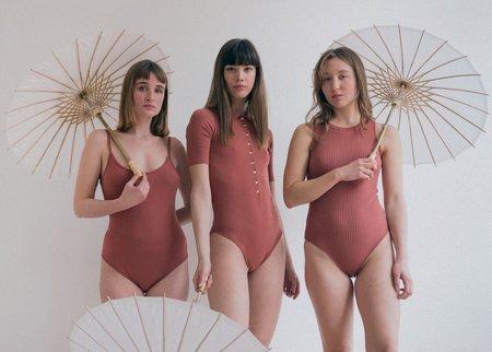 The Bodysuit of Barcelona The Soleil Bodysuit - Marsala