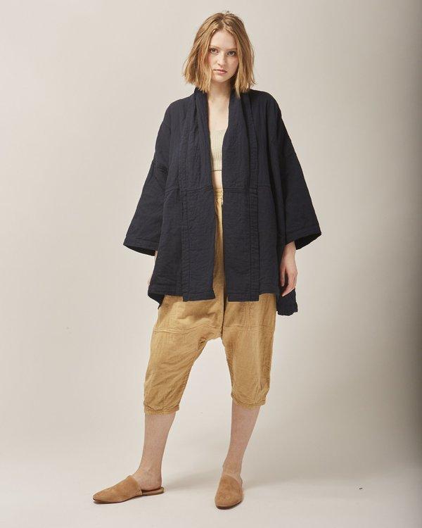 Atelier Delphine Haori coat - darkest navy
