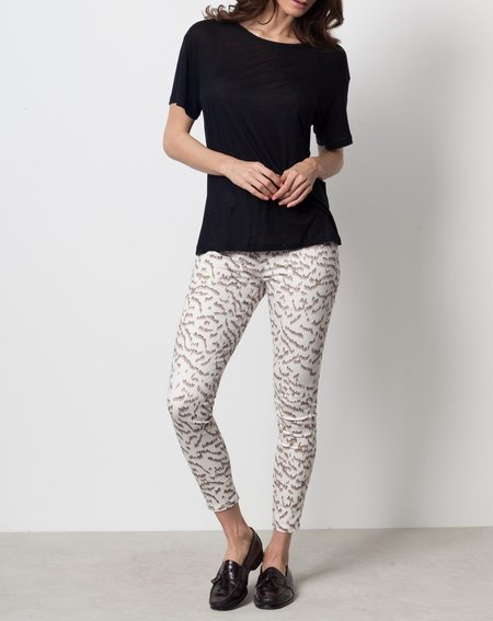 Objects Without Meaning Hi Rise Skinny Jean - Cream Aurora