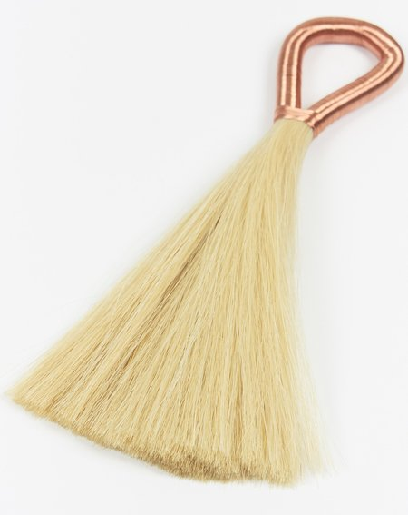 Fredericks & Mae Medium Wire Tassel - White/Copper