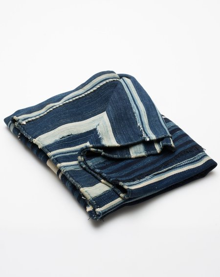 Covet + Lou Vintage Striped Dyed Textile - Indigo