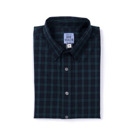 Product of Bob Scales Daily Driver Short Sleeve - Blackwatch Plaid